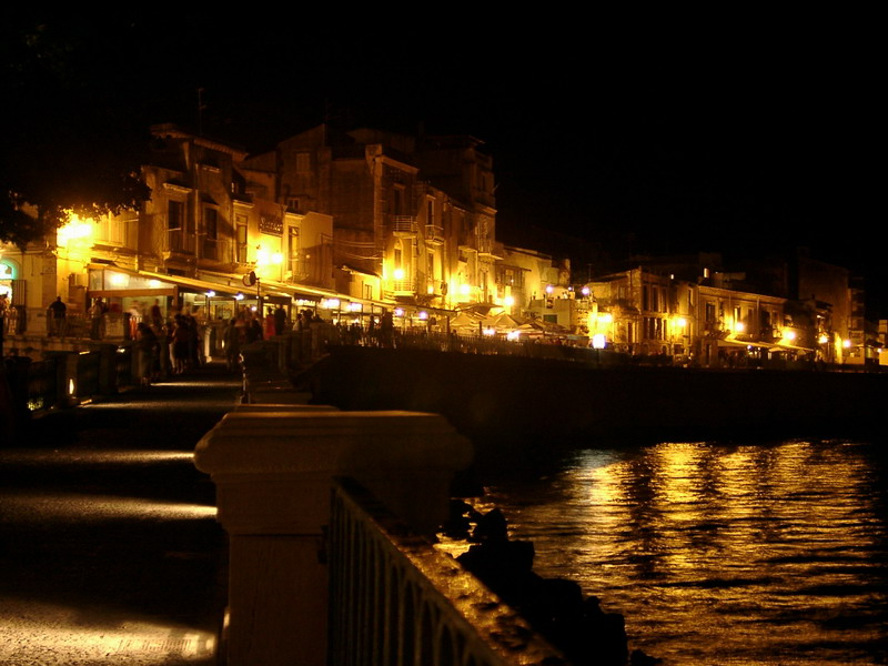 Ortygia by night