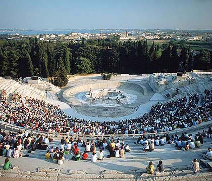 Greek theatre - Greek Tragedies May and June